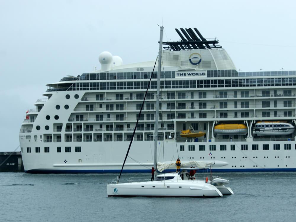 Convoyage catamaran, transat