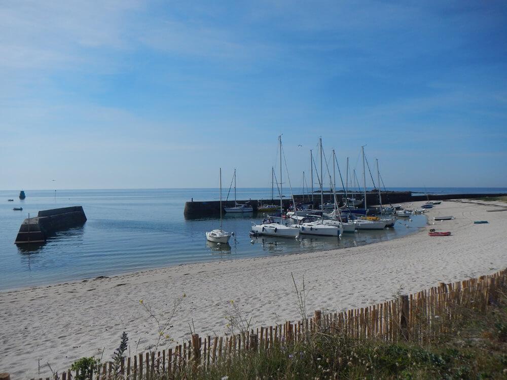 Escale sur l'île Hoedic en Morbihan