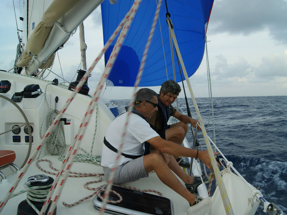 Parés à skipper : catamaran, grande croisière