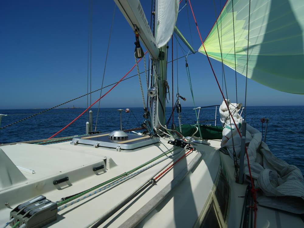 Retour de week-end découverte, archipel des Glénan