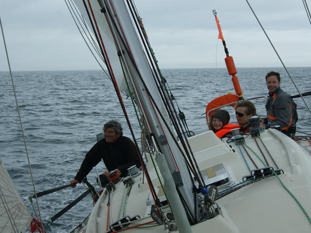 Skipper : Gilles Robert, sur First 32