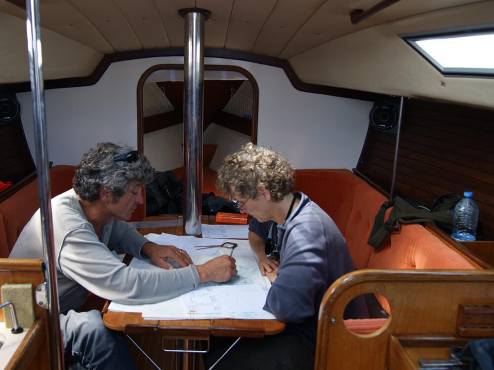 Stage objectif autonomie, préparation à la navigation