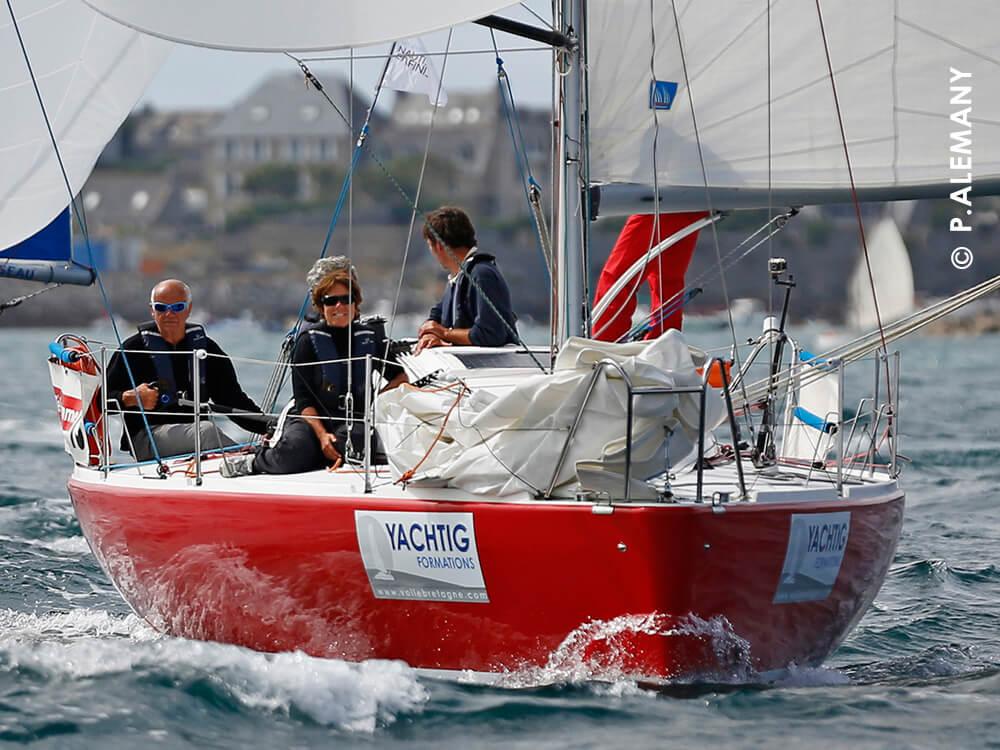 Stage régate : tour du Finistère en Pogo avec Yachtig
