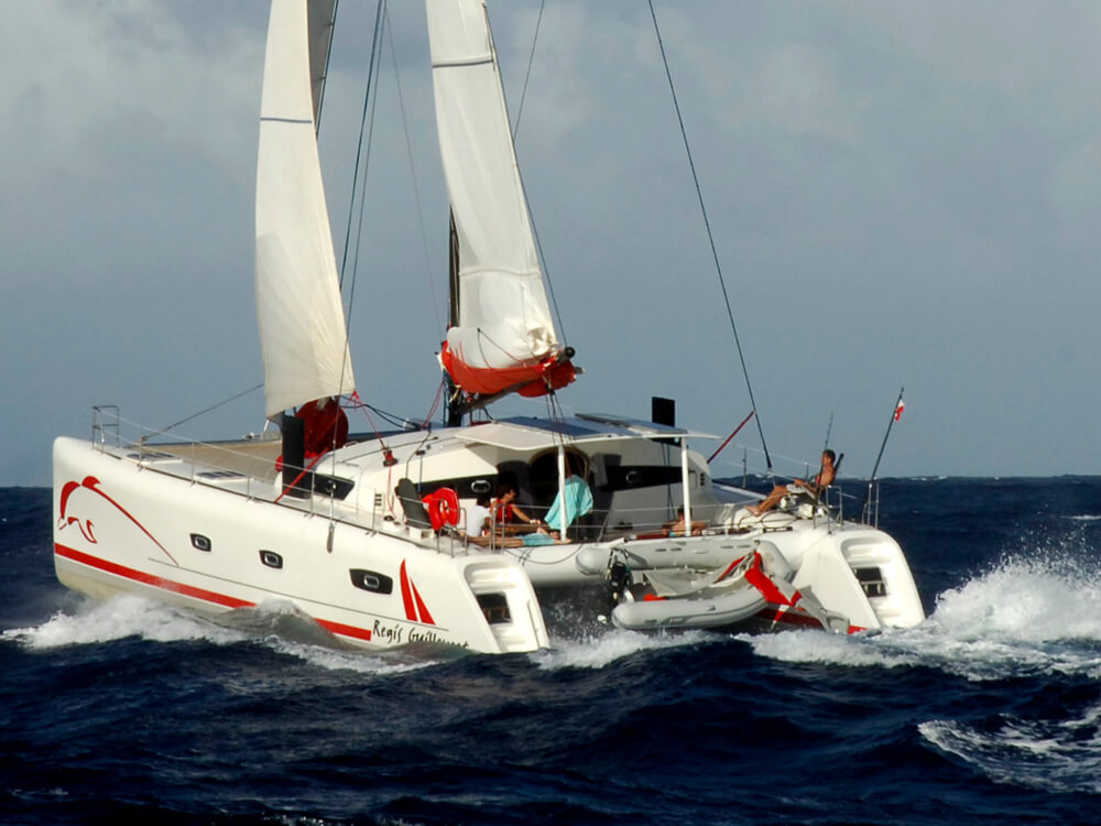 Voilier, catamaran TS 50