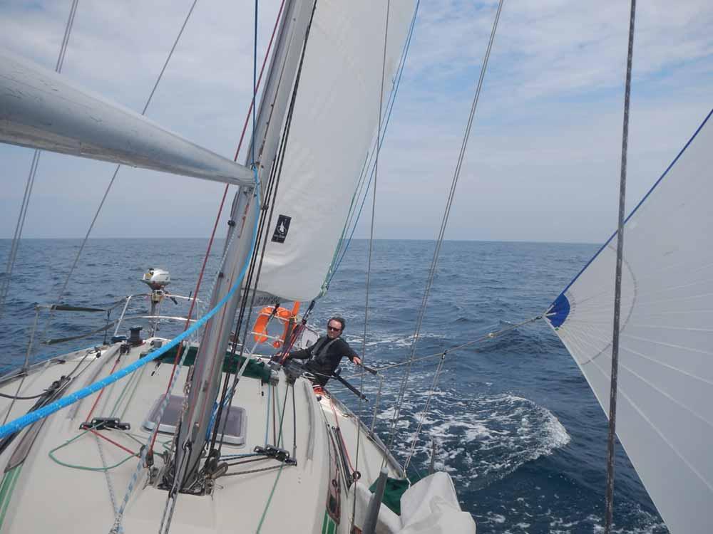 Navigation hauturière avec l'école de croisière Yachtig