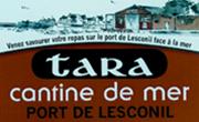 Tara, cantine de mer sur le port de lesconil ans le finistere