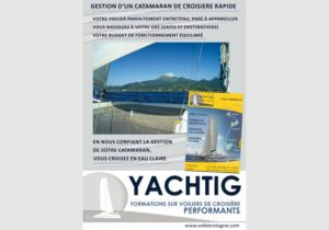 couverture du dossier de gestion catamaran par Yachtig