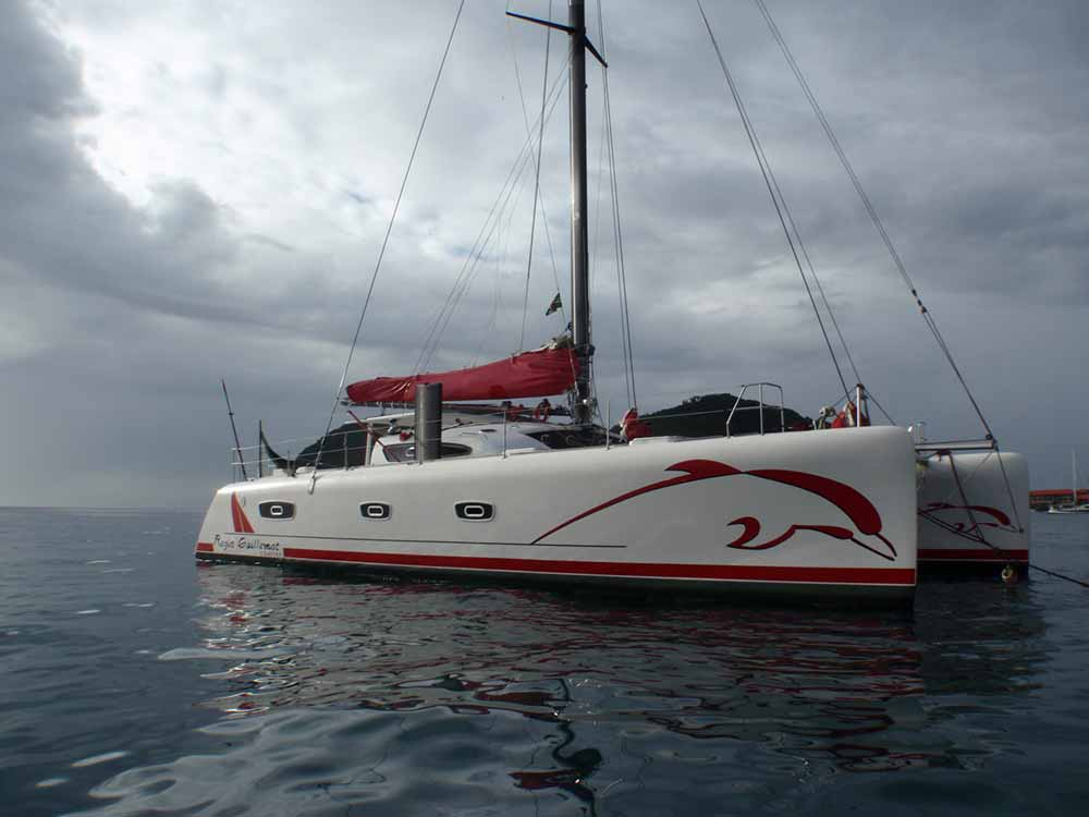 Stage catamaran TS50