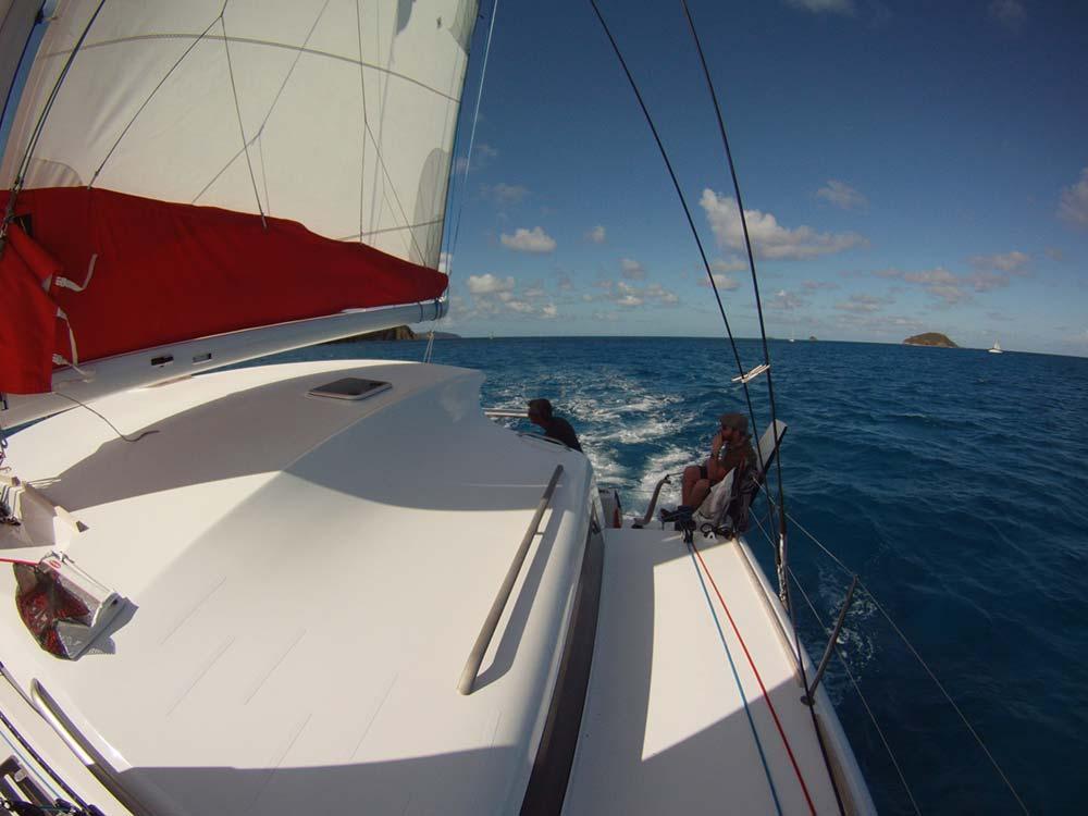 Catamaran TS 42 aux Antilles