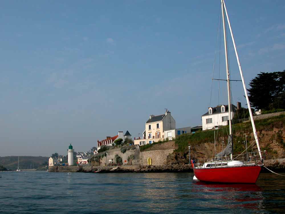 Port de Sauzon, Belle Île, destination voile