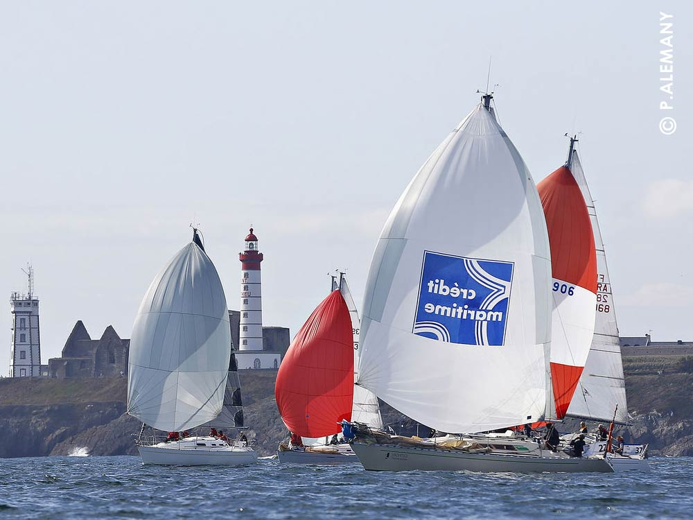 stage regate yachtig depart course pointe saint mathieu concarneau