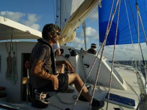 Gilles Robert skipper-formateur professionnel de Yachtig