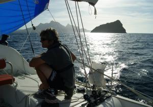 Stage catamaran arrivée à Sao Vicente