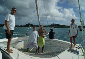 transat-cap-vert-martinique-catamaran-freydis-arrivee-mouillage-saint-anne